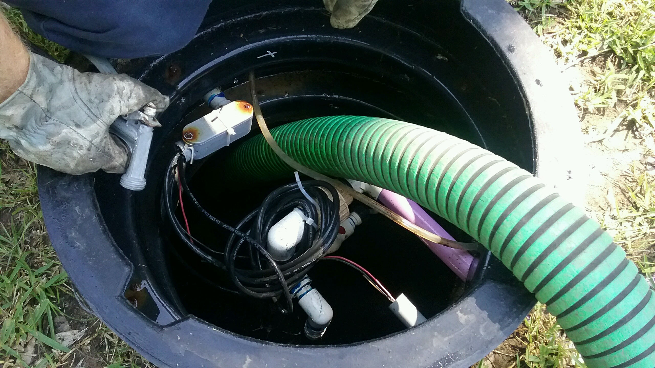 Septic Tank Pumped