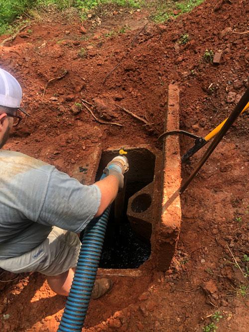 Drain field and septic repair
