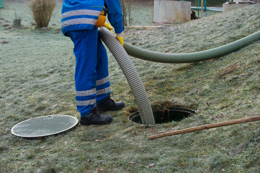 How much does it cost to get a septic tank pumped out near me