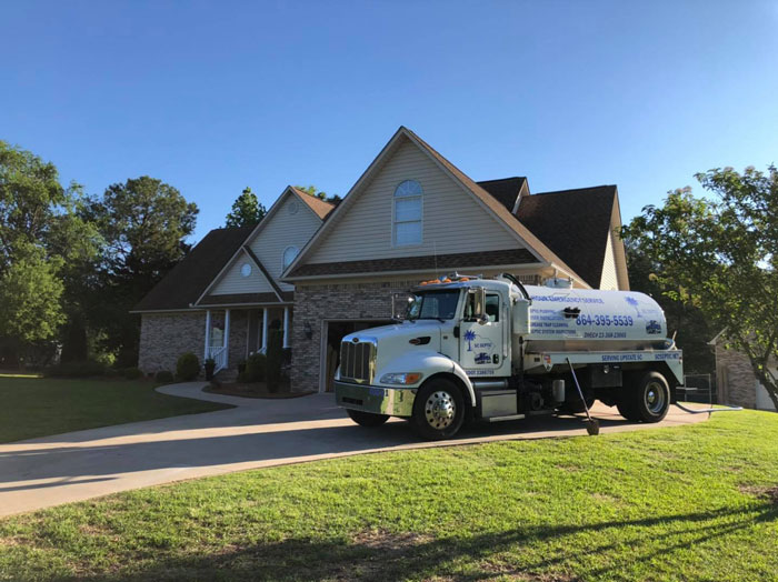 Residential Septic Tank Service in Spartanburg Greenville and the surrounding areas
