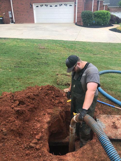 Septic Tank Pumping Spartanburg SC
