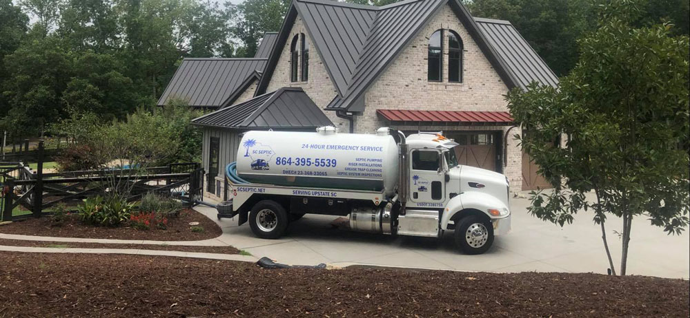 Typical problems leading to pumping of septic tanks